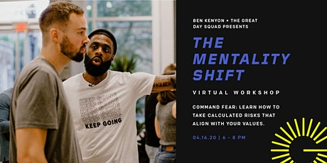 The Mentality Shift Virtual Workshop: Command Fear tickets