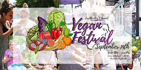 Fayetteville's 3rd Annual Vegan Festival tickets