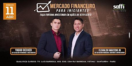 Mercado Financeiro para Iniciantes ingressos