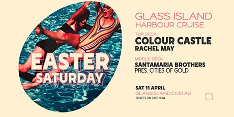 Glass Island ft. Colour Castle - Easter Saturday Sunset Cruise tickets