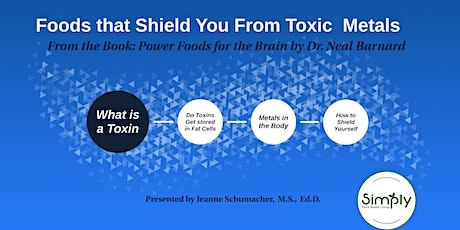 Foods That Shield You from Toxic Metals - Lecture Cooking Demo/Recipes tickets