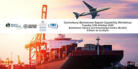 Canterbury - Bankstown Export Capability Workshop tickets