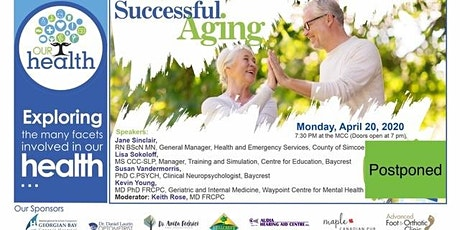 Our Health: Successful Aging tickets
