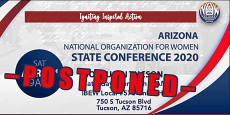 Arizona NOW State Conference 2020 ***POSTPONED*** tickets