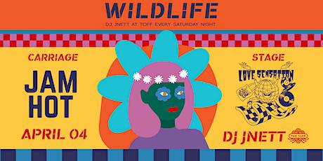 Wildlife ft. Love Sensation, Jam Hot & DJ JNETT tickets