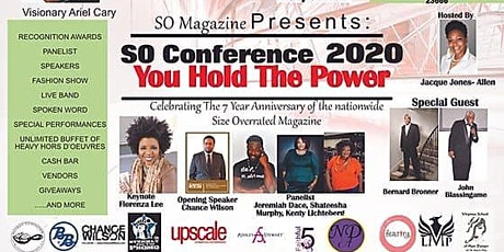 "Size Overrated Magazine Presents: ""You Hold The Power"" Conference tickets"