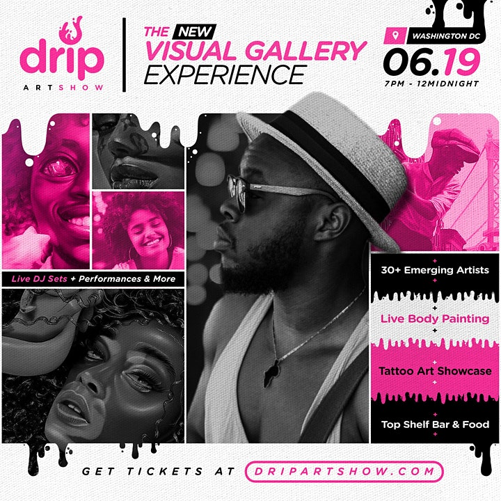 DRIP Artshow || DC || The New Visual Gallery Experience image