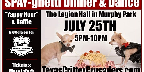 Spay-ghetti Dinner and Dance tickets