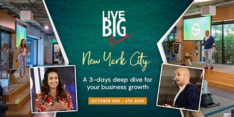 Live Big, New York tickets