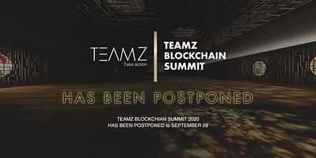TEAMZ BLOCKCHAIN SUMMIT 2020 tickets