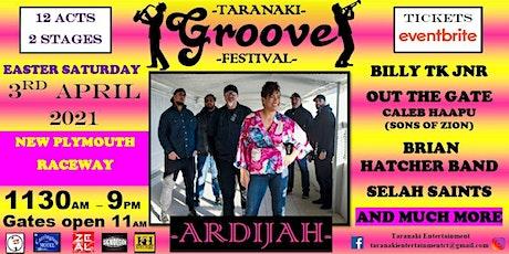 Taranaki Groove Festival 2021 tickets