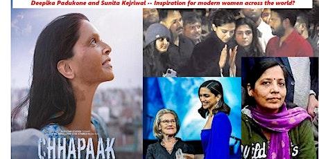 """Deepika & Sunita - Inspiration For Women?""/Group Discussion.FREE! Register tickets"