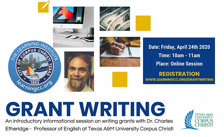 Grant Writing Workshop: An Introductory Informational Session image