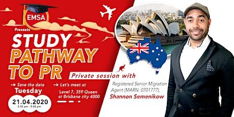 Study Pathway to PR - Brisbane tickets