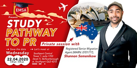 Study Pathway to PR - Gold Coast tickets