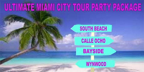 Miami's Ultimate VIP Party Tour Event Ticket tickets