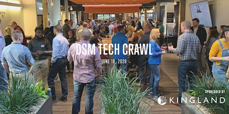 DSM Tech Crawl 2020 tickets