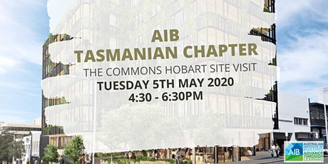 AIB Tasmanian Chapter - The Commons Hobart Site Visit tickets