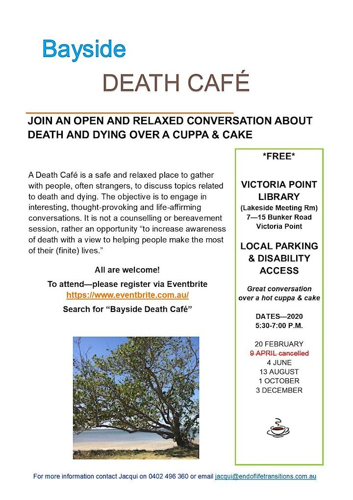 Bayside Death Cafe image