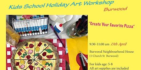 Kids School Holiday Art Workshop tickets