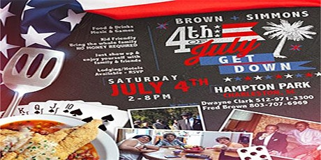 Brown-Simmons - 4th July Get Down tickets