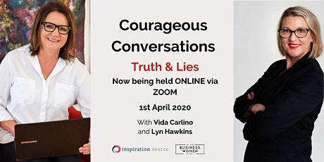 ONLINE, BWA; Courageous Conversations: Truth & Lies tickets