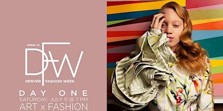 DFW Day 1: Art x Fashion Spring 2020 tickets