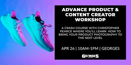 Advance Product & Content Creation Workshop with Christopher Pearce tickets