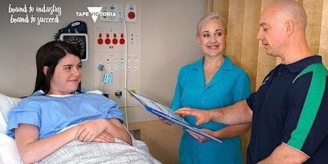 Bendigo TAFE | Info Session: Diploma of Nursing (HLT54115)-Free TAFE course tickets