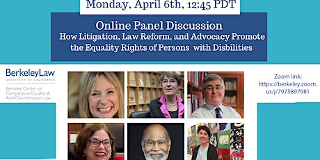 How Litigation, Law Reform and Advocacy Promote the Equality Rights of Persons with Disabilities tickets