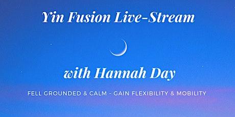 Yin Fushion Live Stream Series with Hannah Day tickets
