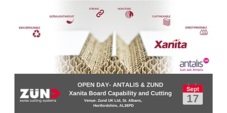 ANTALIS & ZUND -  Xanita Board: Capability and Cutting tickets