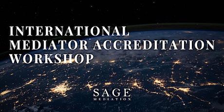 International Mediator Accreditation Workshop tickets
