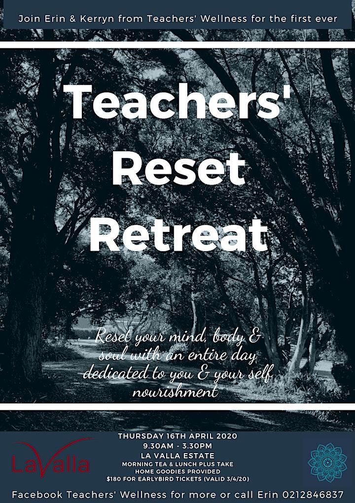 Teachers' Reset Retreat image