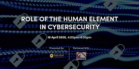Role of Human Element in Cybersecurity [Online] tickets