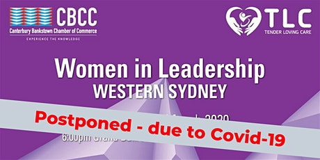 Women in Leadership - Western Sydney - Date TBA tickets