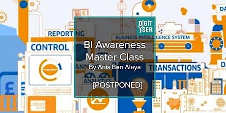 [POSTPONED/REPORTE] BI Awarness Master Class billets