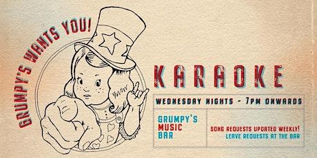 Karaoke @ Grumpy's Music Bar tickets