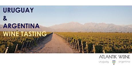 2. Wine tasting Uruguay & Argentina Tickets