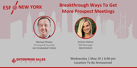 Breakthrough Ways To Get More Prospect Meetings tickets