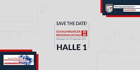 Das Versicherungshaus auf der Schaumburger Regionalschau 2020 Tickets