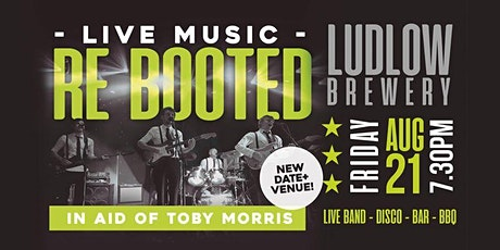 Re Booted - Live!  In aid of Toby Morris tickets