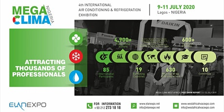 4th Mega Clima Nigeria Expo 2020 tickets