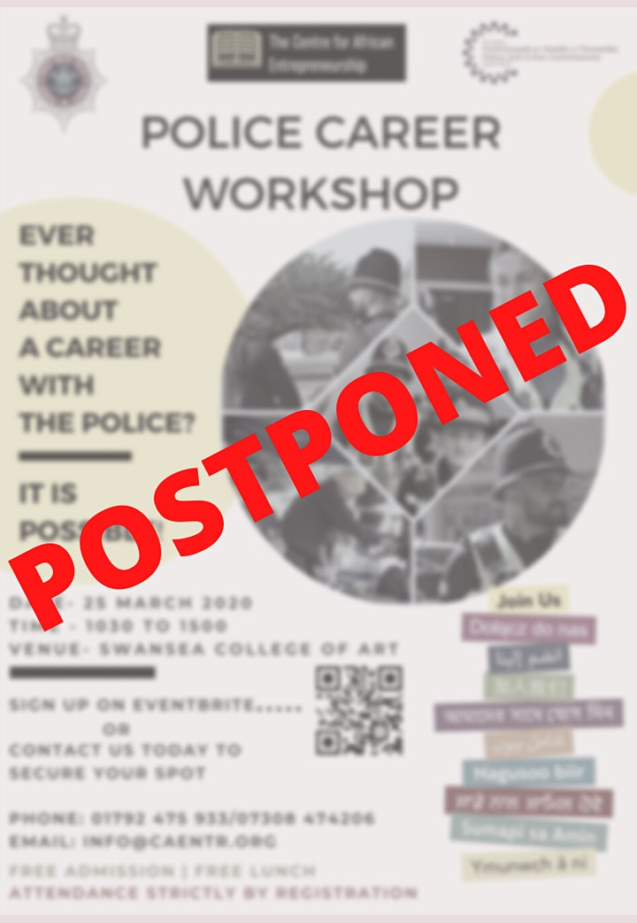 Police Careers Workshop image