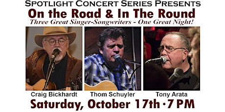 Craig Bickhardt, Thom Schuyler and Tony Arata in Concert tickets