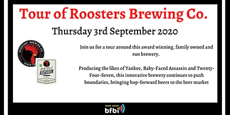BFBi Roosters Brewery Tour tickets
