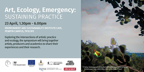 Art, Ecology, Emergency: Sustaining Practice Symposium tickets
