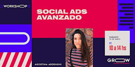 Workshop: Social Ads (avanzado) entradas