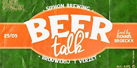 BeerTalk | First edition | 25-5-2020 19:00 tickets