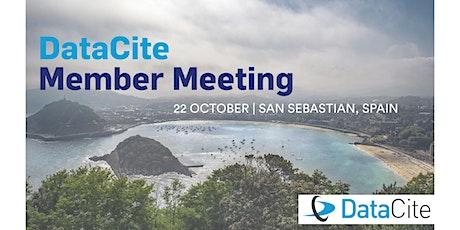 DataCite Member Meeting tickets